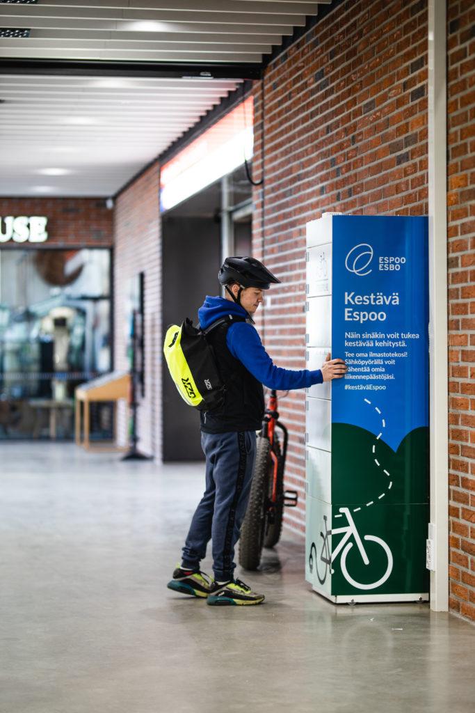 Espoo Charging Cabinet