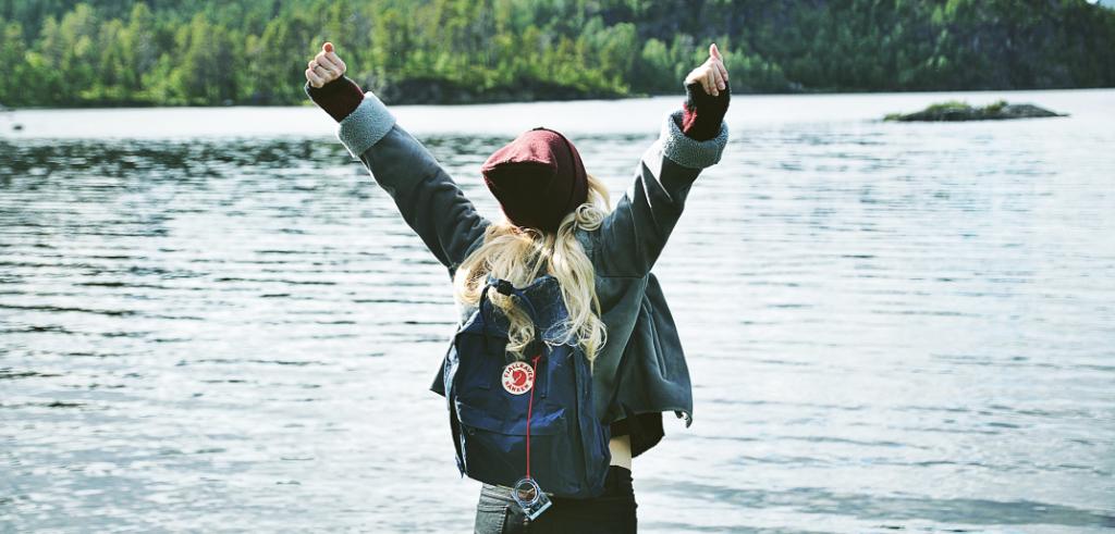Traveller in Lapland