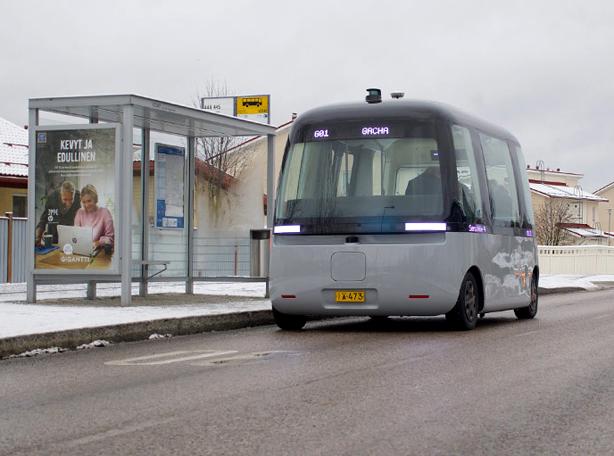 Gatcha bus in Kivistö