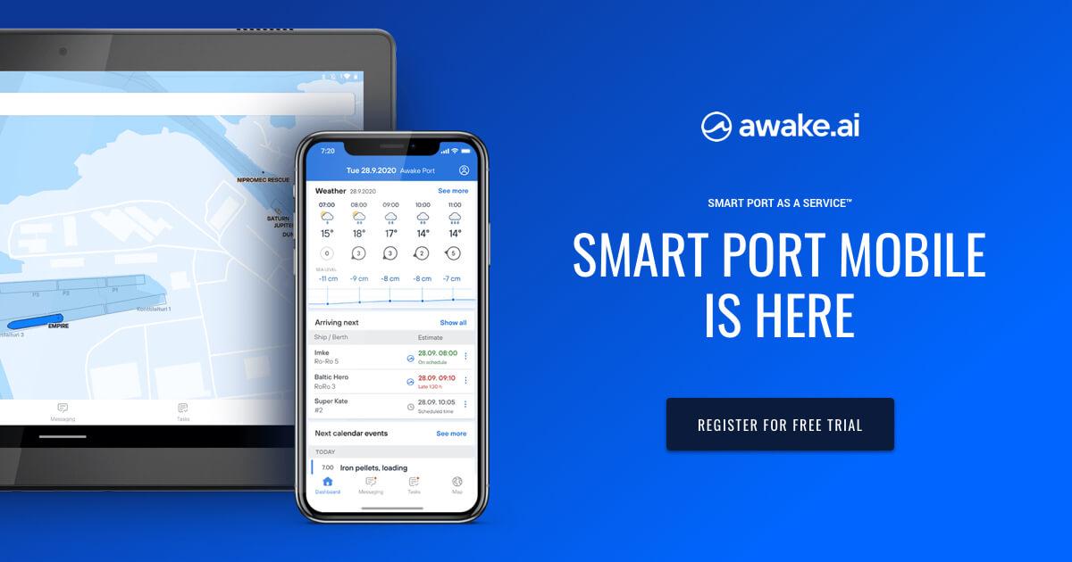 Mobile app for Smart Ports