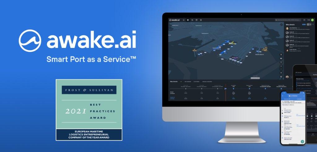 Awake.AI Frost & Sullivan award