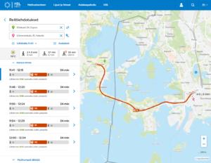 HSL Journey Planner UI